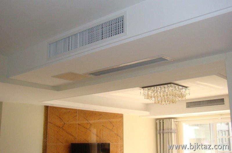 格力家用中央空调安装效果