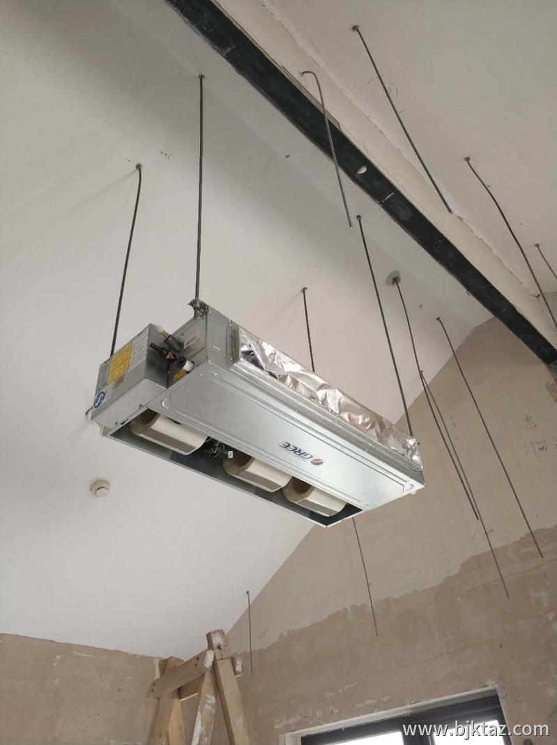 格力中央空调吊装后效果