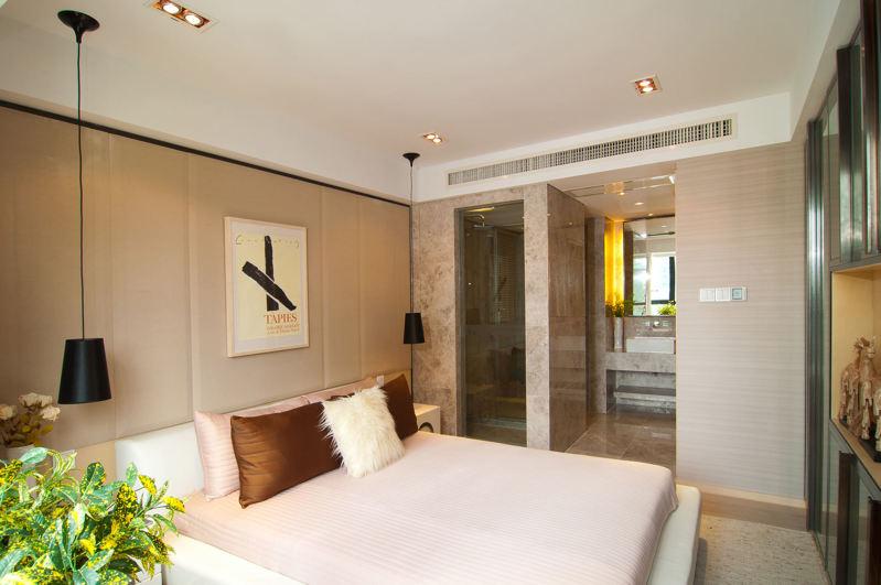 格力中央空调安装效果图之卧室