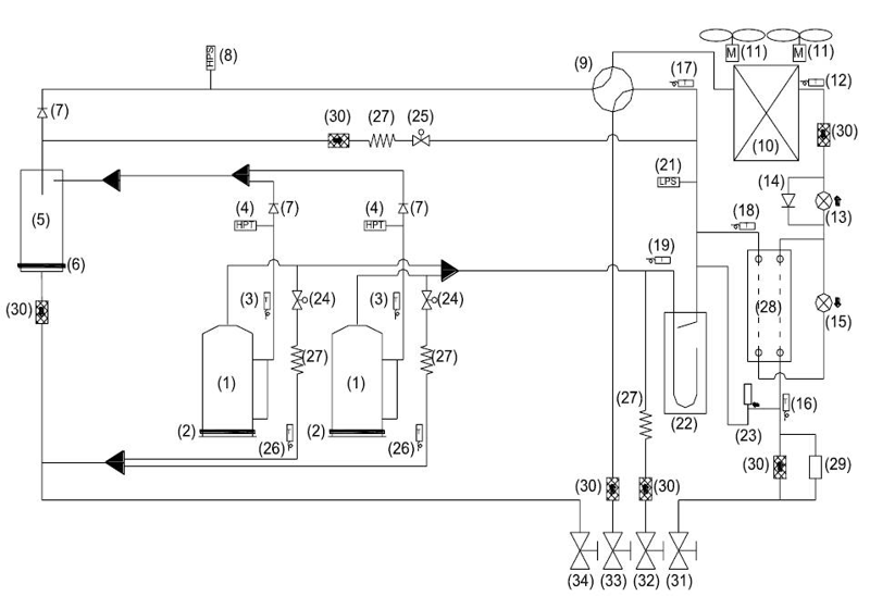 北京格力空调 行业动态 格力gmves系列直流变频多联机工作原理