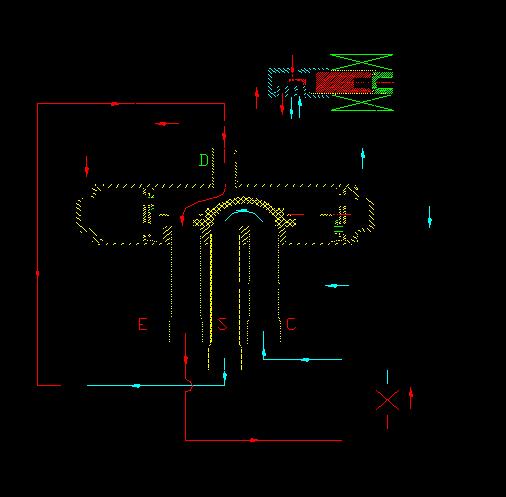 格力中央空调系统循环图